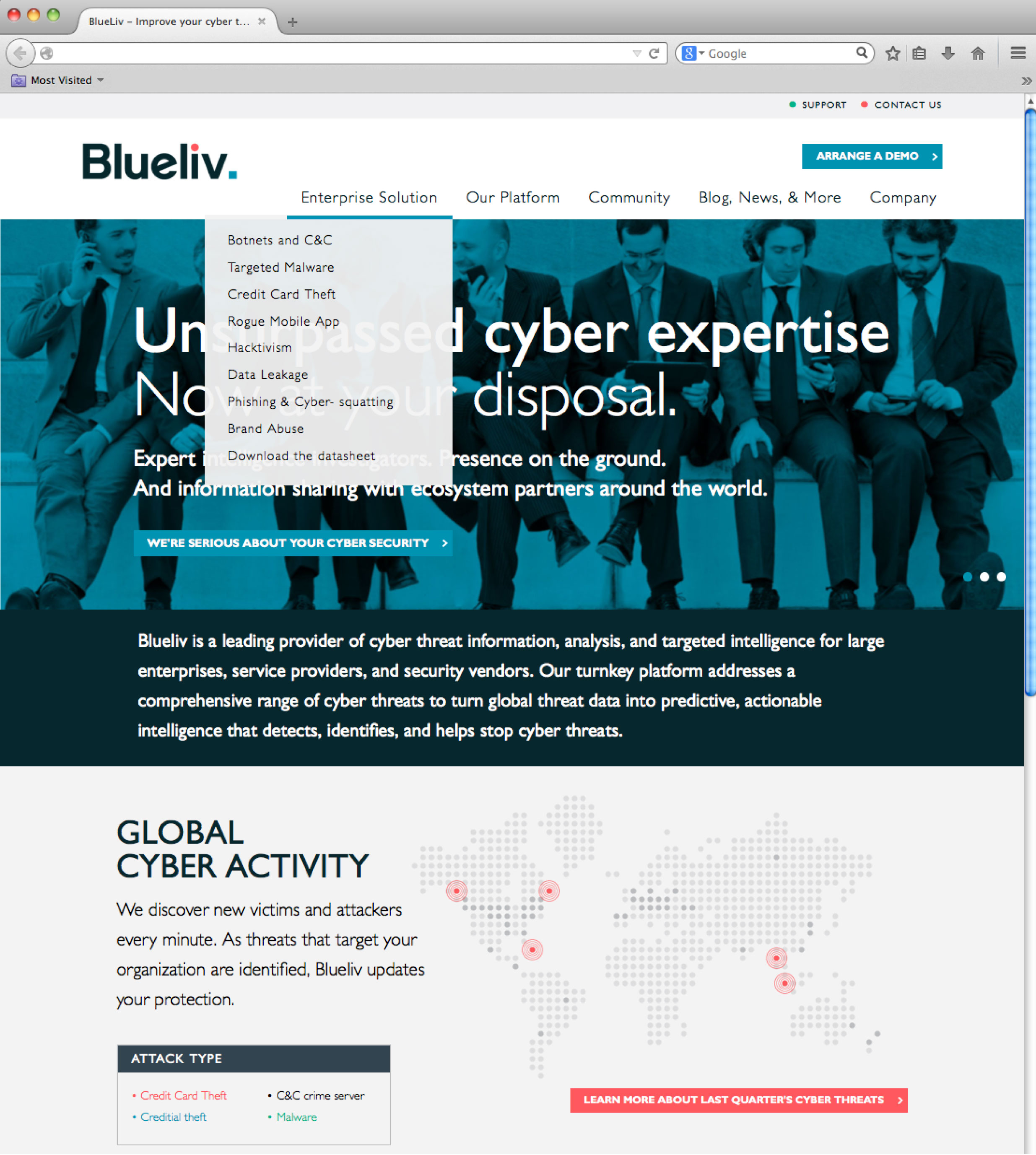 blueliv-website
